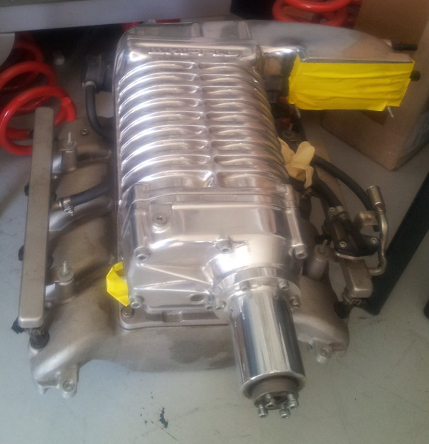 Whipple Supercharger Replacement Parts: Whipple Supercharger Kit, Intercooled